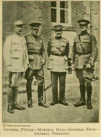 Spojenecké velení 1918